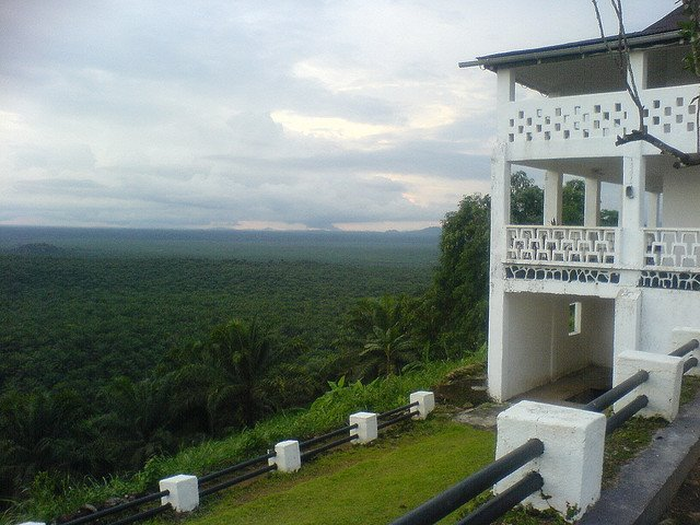 région du Sud-Ouest Cameroun Villa Coloniale Mundemba